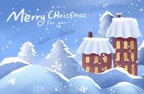 原创下雪的圣诞节