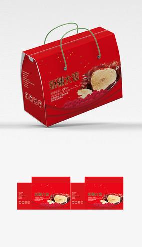 红枣包装设计平面图