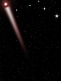 炫酷亮丽PS星空背景图