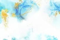 矢量手绘花朵背景装饰画