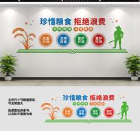 企业食堂文化墙设计