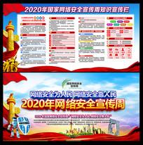 2020年国家网络安全宣传周展板