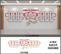 廉政文化宣传墙设计