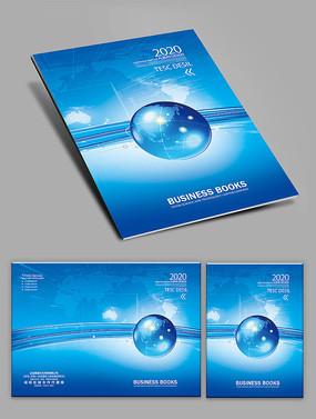 藍色科技封面設計