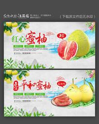 福建平和红心蜜柚宣传海报设计