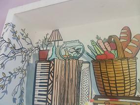 墙面创意壁画涂鸦