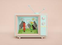 趣味电视节目3D/C4D