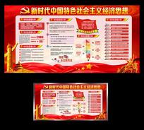 新时代中国特色社会主义经济思想展板