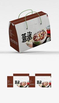 国潮薏米粥包装