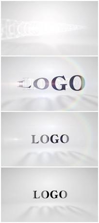 简洁大气LOGO演绎片头视频模板