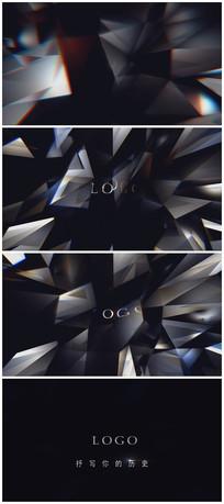 钻石开场LOGO演绎视频模板