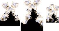 古典民族风定位花纹印花