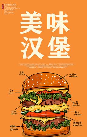 美味汉堡汉堡