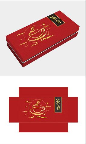 红色茶叶包装盒
