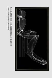 新中式线条装饰画