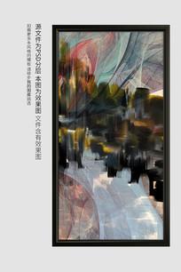 新中式油画装饰画
