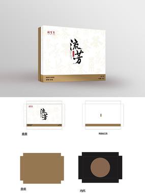 中国风传统茶叶绿茶包装设计礼盒