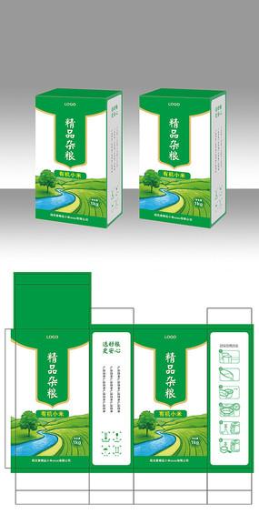五谷精品杂粮包装设计