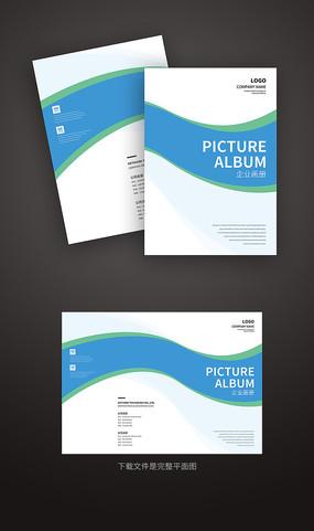 简洁大气企业产品画册封面