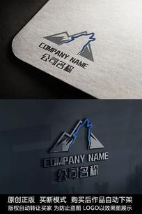 狼logo标志商标设计