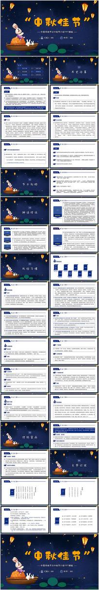 中秋节风俗介绍PPT