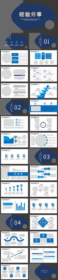 高效经验分享工作经验分享演讲PPT模板