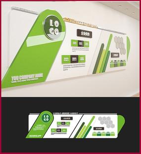 绿色生态企业文化墙