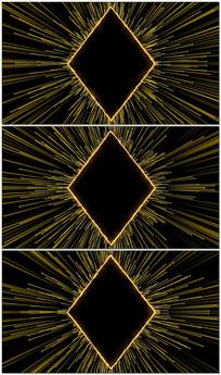震撼豪华粒子光线四射颁奖舞台循环背景视频素材