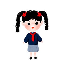 红领巾学生