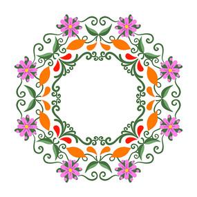 花纹装饰图案