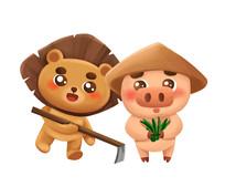 原创种地的小动物