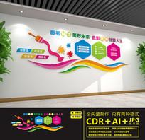 校园画室美术文化墙