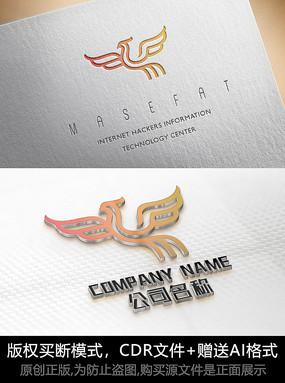 凤凰logo标志凤凰商标设计