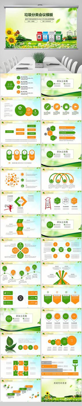 爱国卫生垃圾分类低碳生活保护环境PPT