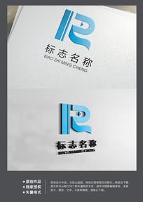 简洁大气媒体数码行业标志logo