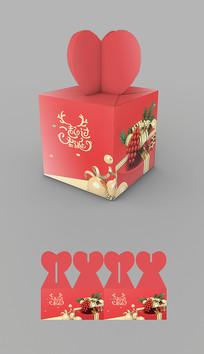 圣诞节包装礼盒设计图