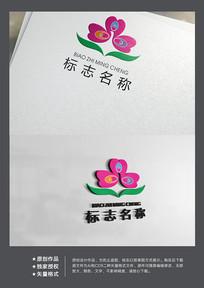 时尚化妆美容保健标志logo