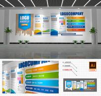 现代科技企业文化墙
