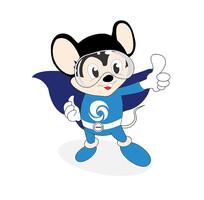 原创老鼠卡通logo