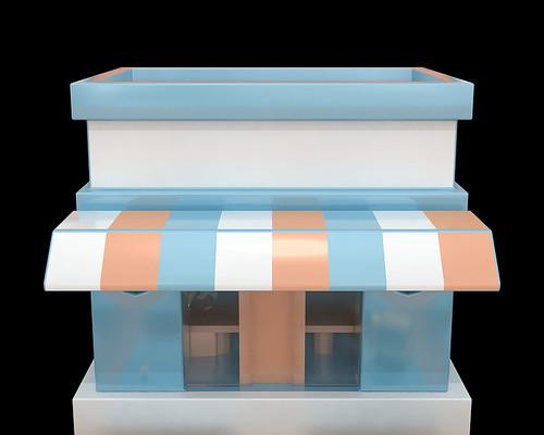 原创3D小房子