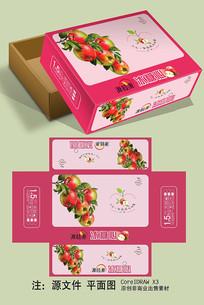 冰糖心苹果礼盒包装设计