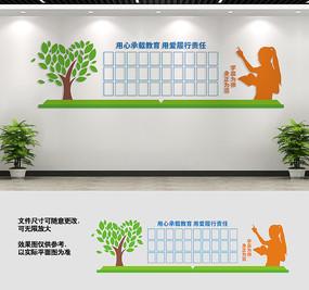 学校校园教师风采墙设计