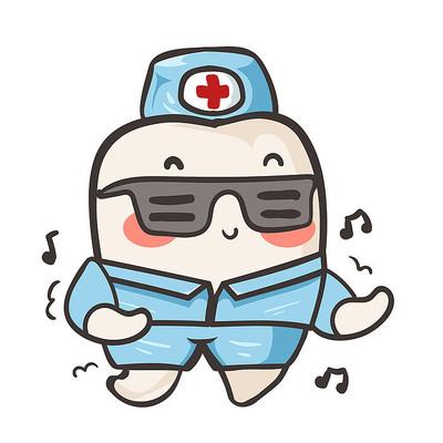 牙科医院卡通图片