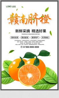 赣南脐橙宣传海报设计
