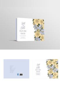 韩式清新花朵伴手礼包装设计