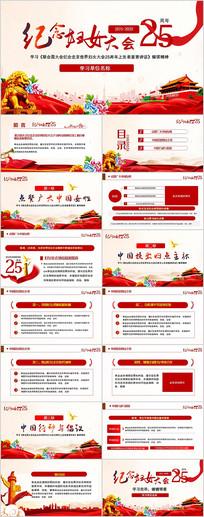 纪念北京世界妇女大会25周年PPT