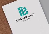 FB字母logo