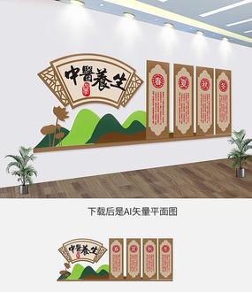 春夏秋冬四季养生中医文化墙
