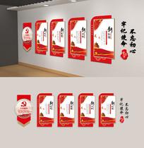 党建活动室新时代新思想党建文化墙