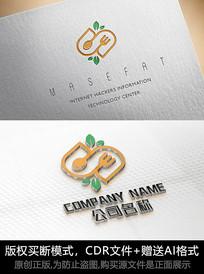 S字母logo标志餐饮商标设计